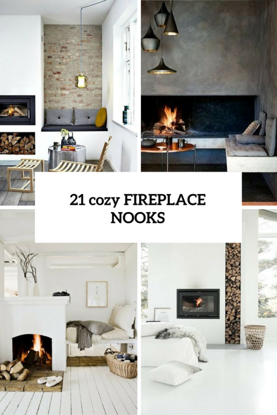 contemporary fireplace Archives - DigsDi