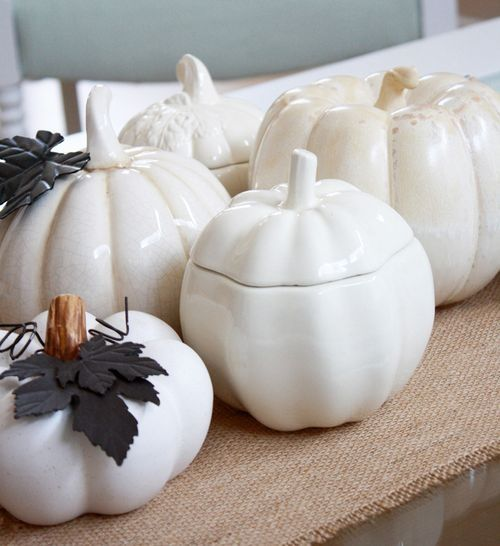 Best Thanksgiving Decoration By Using White Thanksgiving: Charming .