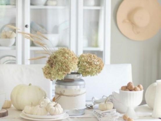 35 Tender White Thanksgiving Décor Ideas - DigsDi