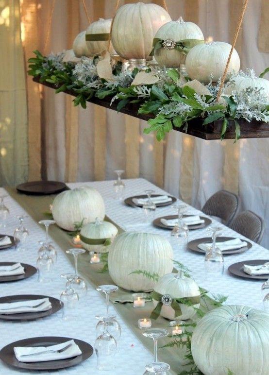 35 Tender White Thanksgiving Ideas   Thanksgiving table .