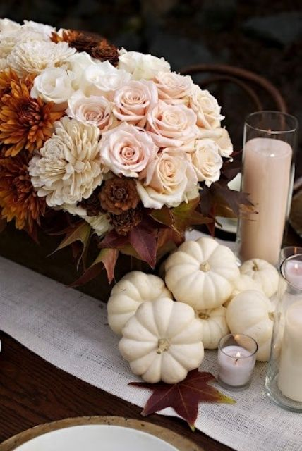 35 Tender White Thanksgiving Ideas (With images)   Pumpkin fall .