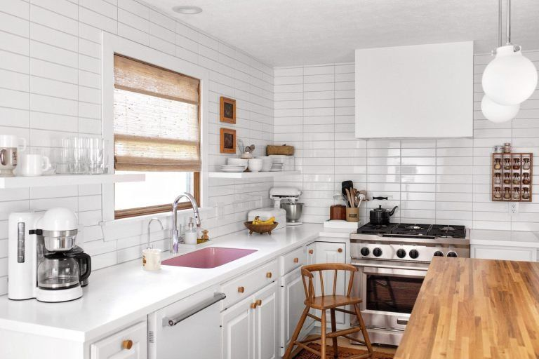 Before and After: Dark Wood Kitchen Gets Makeover with Major 70s .