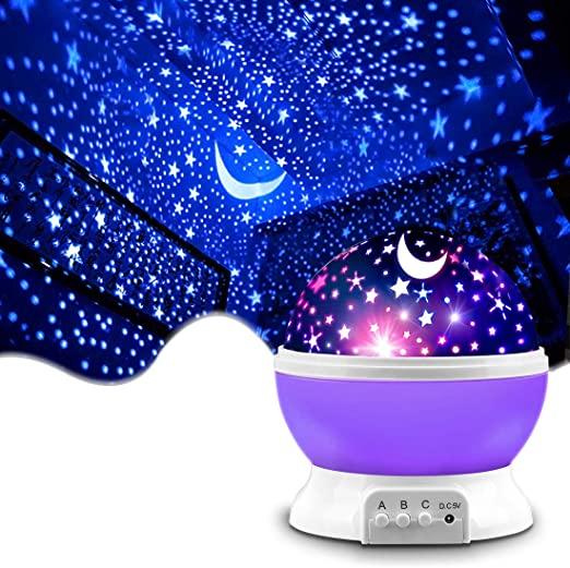 Amazon.com: Star Projector, MOKOQI Night Light Lamp Fun Gifts for .