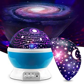 Amazon.com: MOKOQI Baby Night Light Lamps for Bedroom Romantic 360 .