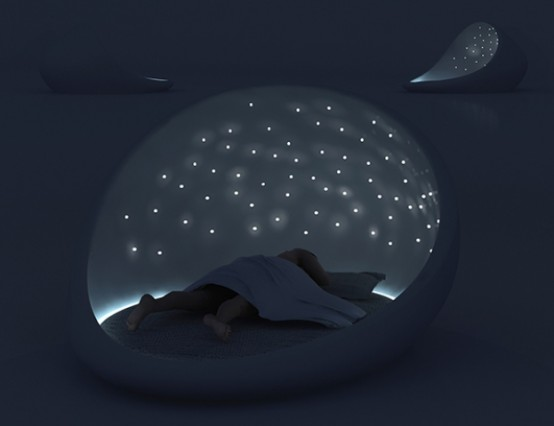 The Cosmos Bed For Enjoying A Starry Sky - DigsDi