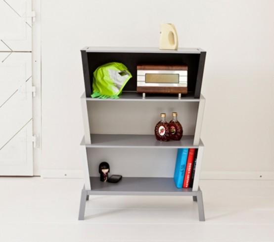 Thoughtful Minimalist Stackable Shelf System - DigsDi