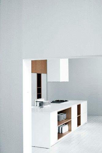 kitchen design, modern interiors, minimalism, white* - Elisa .
