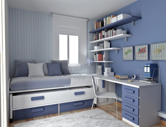 Thoughtful Teenage Bedroom Layouts - House Affa