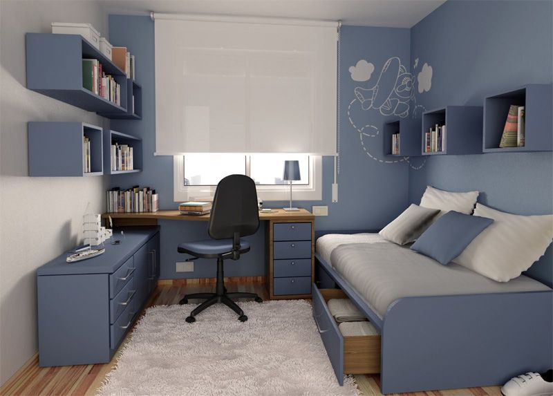50 Thoughtful Teenage Bedroom Layouts | DigsDigs | Remodel bedroom .