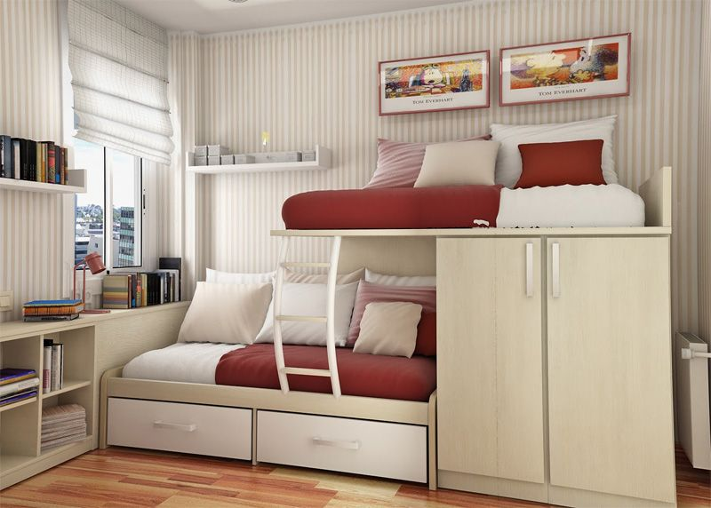 Here are some modern teenage bedroom ideas for small rooms .