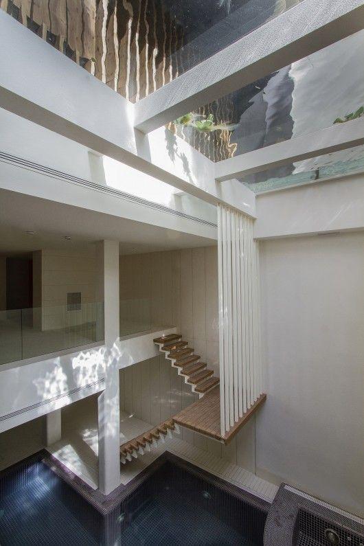 Sharifi-ha House / Next Office–Alireza Taghaboni | Staircase .