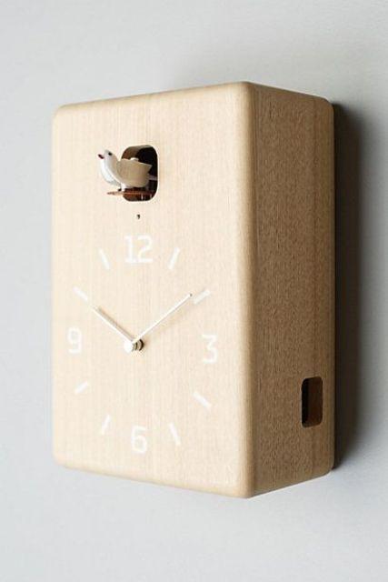 Time As Art: 26 Really Unique Modern Clocks | Modern clock, Clock .