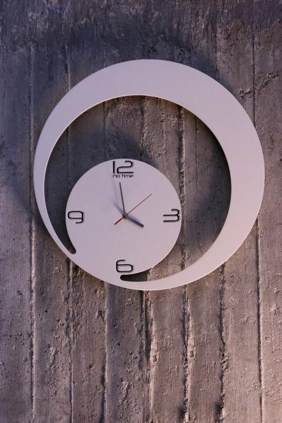 Time As Art: 26 Really Unique Modern Clocks - DigsDi