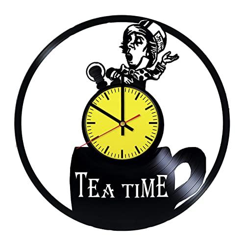 Amazon.com: Alice in Wonderland Tea Time Design Art Decor Vinyl .