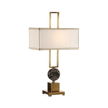 Disc and Frame Table Lamp | Lamp, Table lamp, Brass la