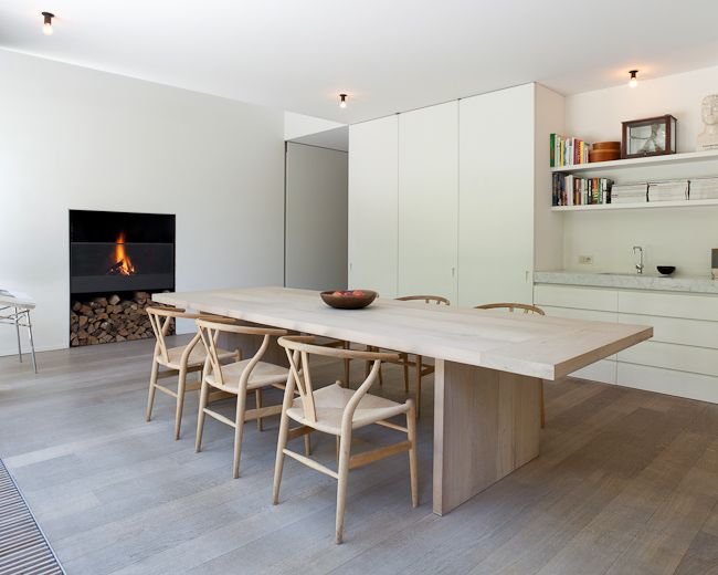31 Timeless Minimalist Dining Rooms And Spaces   Arredamento d .