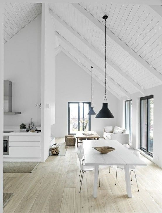 31 Timeless Minimalist Dining Rooms And Spaces   Flooring .