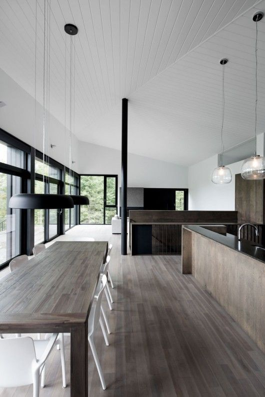 31 Timeless Minimalist Dining Rooms And Spaces   Minimalistische .