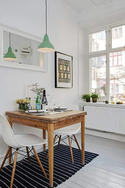45 Tiny And Cozy Dining Areas For Every Home   Dining room small .