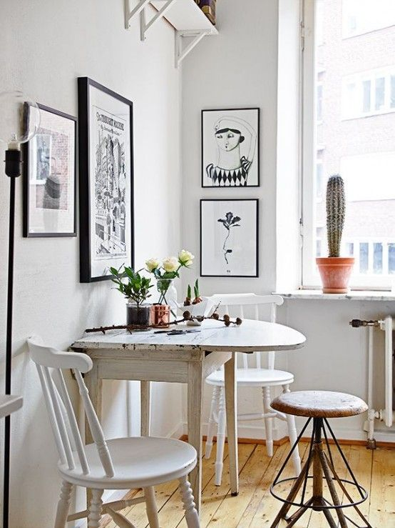 45 Tiny And Cozy Dining Areas For Every Home (With images .
