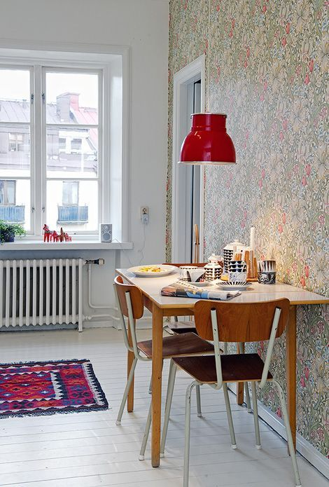 Tiny And Cozy Dining Areas For Every Home   Scandinavian living .