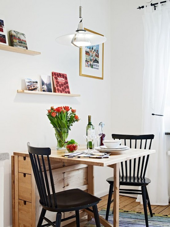45 Tiny And Cozy Dining Areas For Every Home - DigsDi