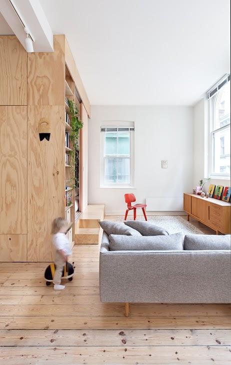 Tiny Apartment Renovation On A Modest Budget - DigsDi