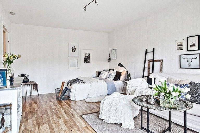 28+ Marvelous Low Budget Apartment Studio Decor Ideas | Bedroom .