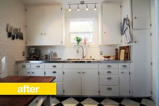 Kitchen Before & After: A Small 1946 Bungalow Kitchen Gets a .