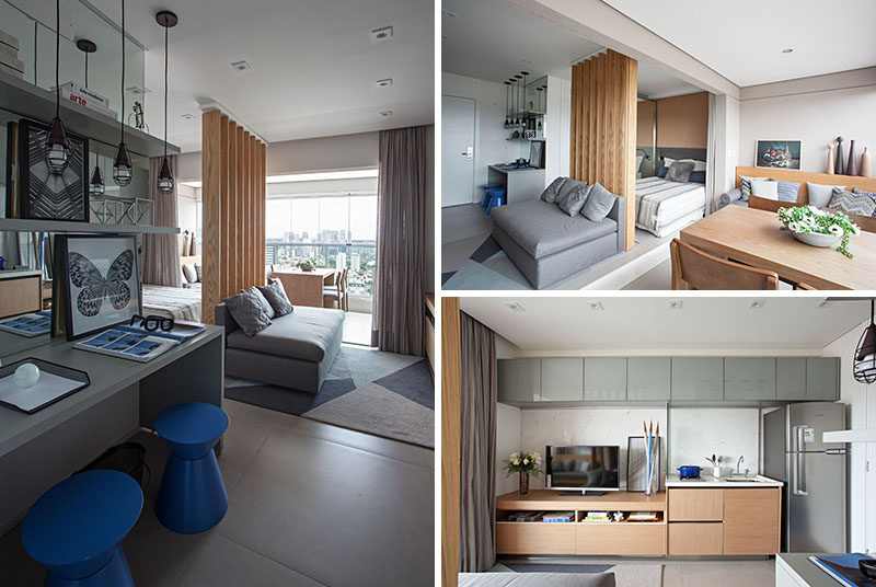 Design collection | Modern Small Efficiency Apartment| (47) ++ New .