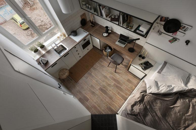 Tiny Contemporary Apartment For A Student - DigsDi