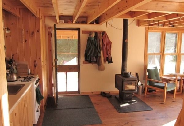DIY 704 Sq. Ft. Hand Built Off Grid Tiny Cabin | Small cabin plans .