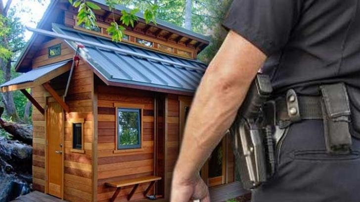 Government Criminalizes Off Grid Living: Tiny Homes Banned In US .