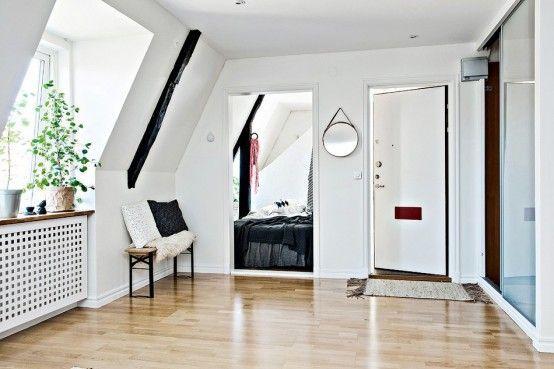 Tiny Scandinavian Apartment With A Smart Space Saving Design .