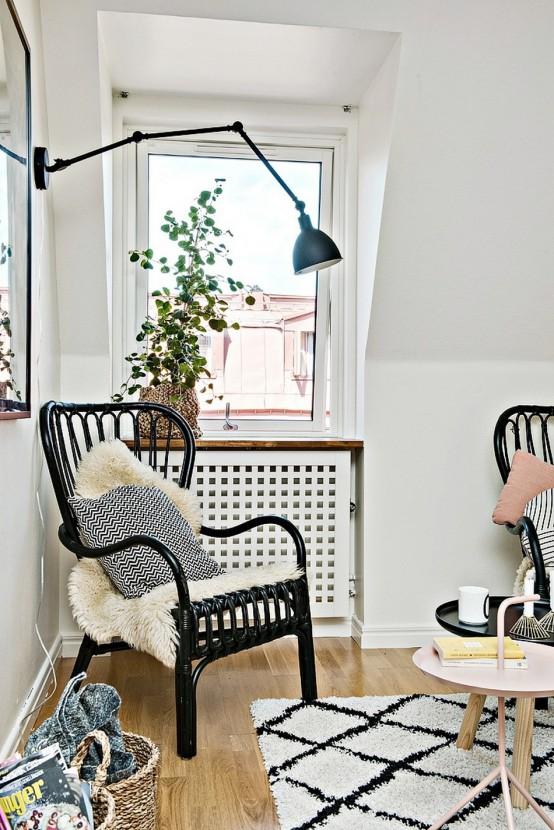 Tiny Scandinavian Apartment With A Smart Space-Saving Design .