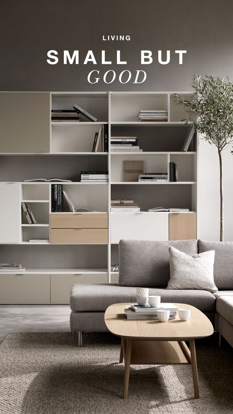 DON'T LIVE SMALL. LIVE SMART. in 2020 | Space saving furniture .