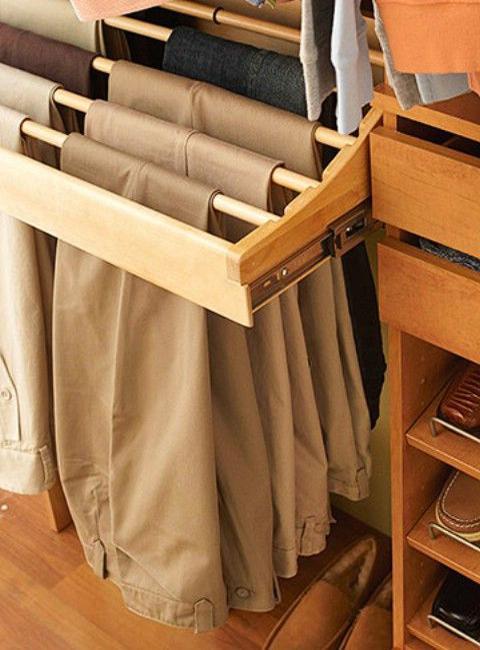 30 Smart Storage Ideas to Improve Closet Organization and Maximize .