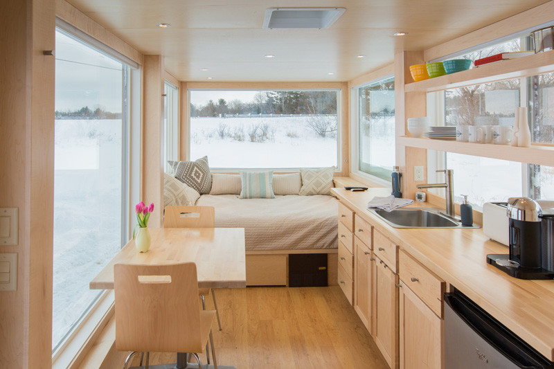 See inside this tiny home that's only 160 square fe
