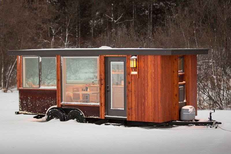 Tiny Home For $39,900 | Tiny house design, House on wheels, Tiny .