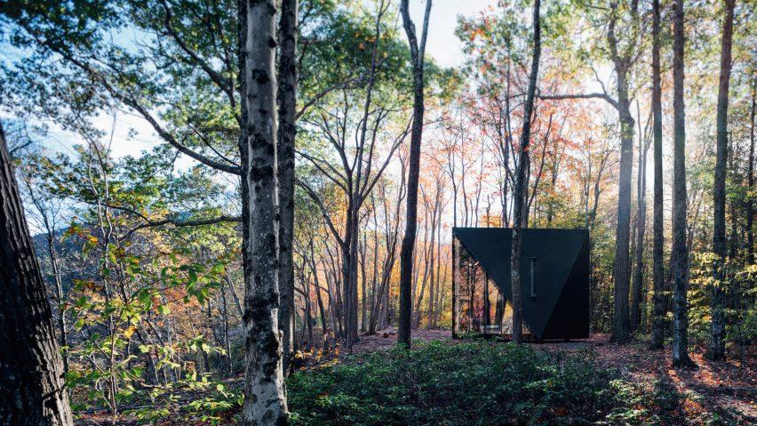 BIG designs prototype tiny cabin in Upstate New Yo