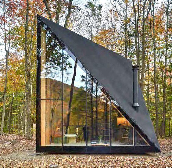 The Design Walker — #wood and #black #modern #house #exterior .
