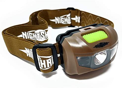 NightShade LED Head Lamp Light for Hunting Survival Camping Hands .