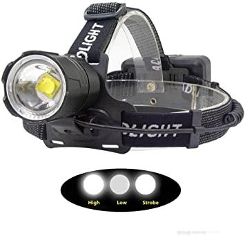 Head Torch/LED Headlamp, Super Bright 12000 Lumens Head Torches .