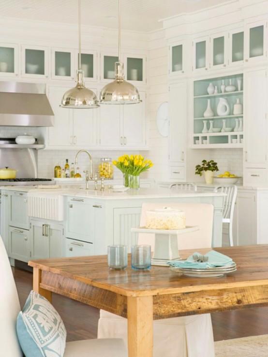 Traditional Coastal Style Kitchen Design Inspiration - DigsDi