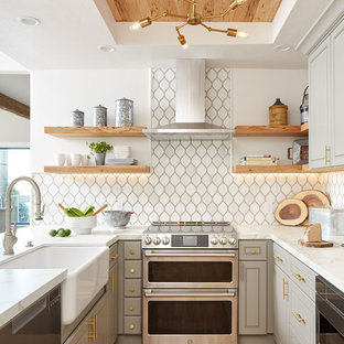75 Beautiful Beach Style Kitchen Pictures & Ideas | Hou