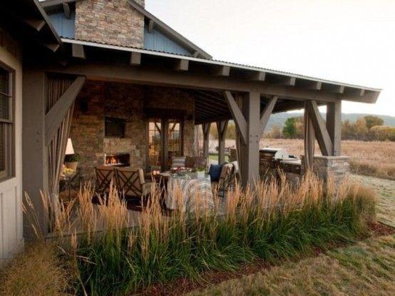 Traditional Style Veranda Design With Vintage Furniture | Hgtv .