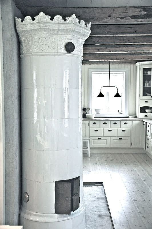 29 Traditional Tile Stoves In Home Décor | DigsDigs | European .