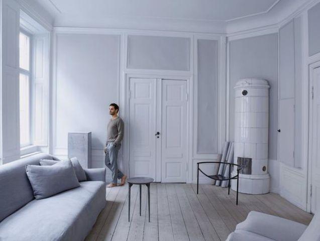 Tranquil Grey Apartment In 18th Century Building - DigsDi