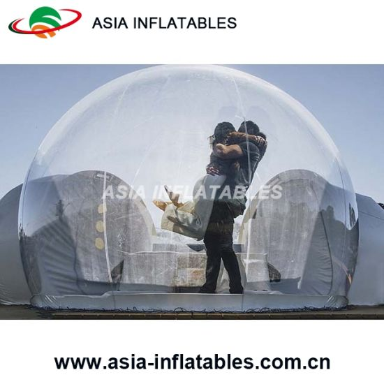 China Convenient Transparent Inflatable Bubble Cabin for Camping .