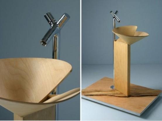 wood washbasins Archives - DigsDi